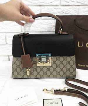 Сумка Gucci Padlock GG Top Handle Bag