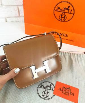 Сумка Hermes Constance Brown