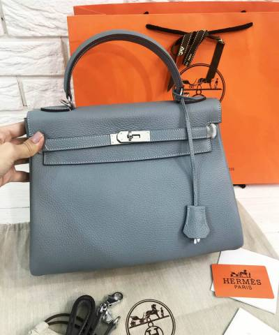 Сумка Hermes Kelly Togo Ice
