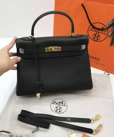Сумка Hermes Kelly Togo Black