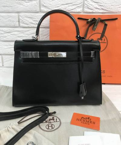 Сумка Hermes Kelly Black 32 cm