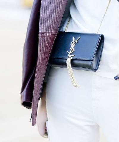 Клатч YSL Saint Laurent Tassel Medium