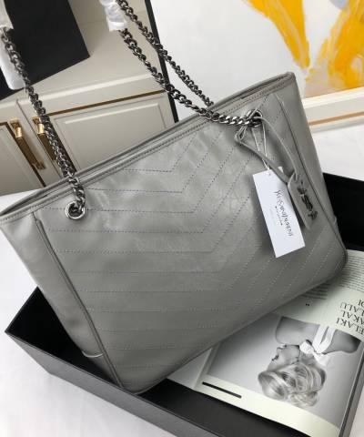 Сумка YSL Large Monogramme Niki Shopping Bag Grey