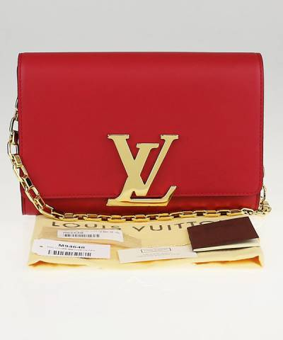 Клатч Louis Vuitton MM Chain Red