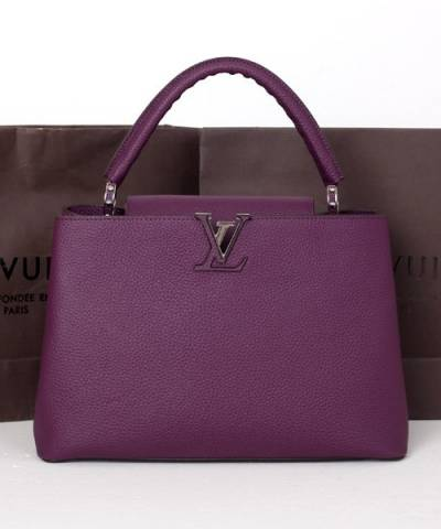 Сумка Louis Vuitton Capucines Violet