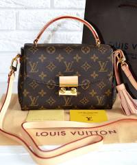 Сумка Louis Vuitton Croisette Damier Canvas Bag