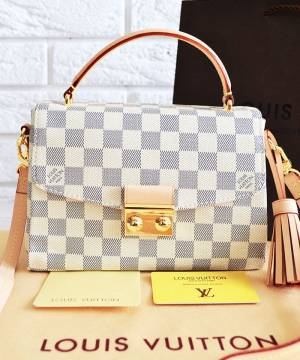 Сумка Louis Vuitton Croisette Damier Azur Canvas Bag