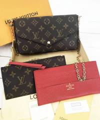 Клатч Louis Vuitton Pochette Felicie Monogram