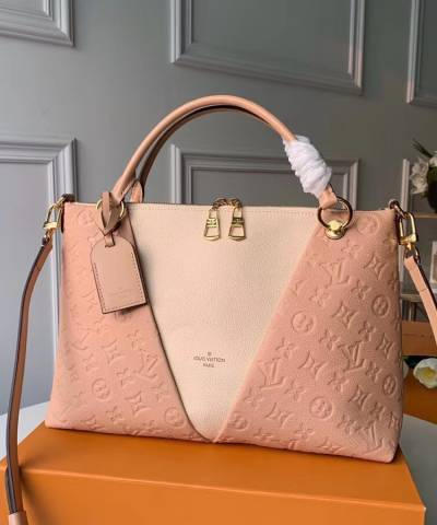 Сумка Louis Vuitton Empreinte V Tote Bag Creme