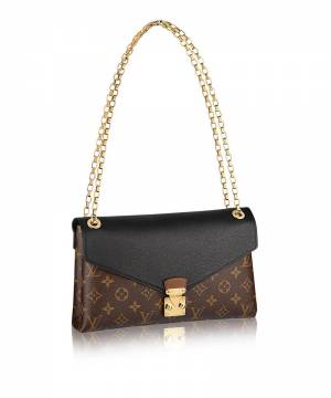Клатч Louis Vuitton Monogram Canvas Pallas Chain Noir