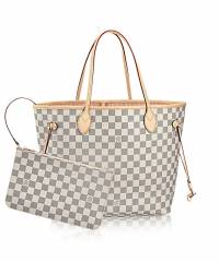 Сумка Louis Vuitton Neverfull Damier Azur