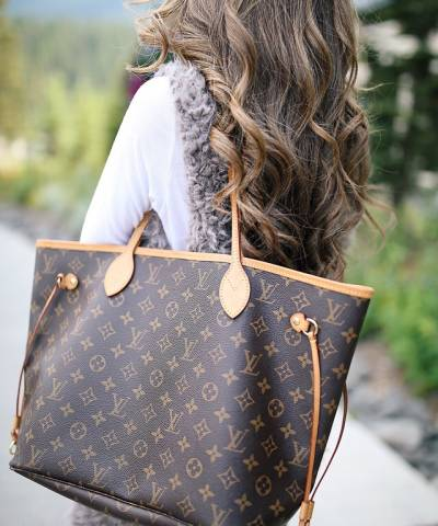 Сумка Louis Vuitton Neverfull Canvas