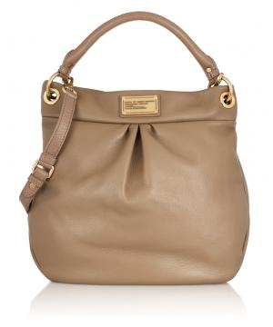 Сумка Marc by Marc Jacobs Classic Q Hillier Hobo Bag Coffee