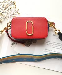 Сумка Marc Jacobs Snapshot Cross Body Bag Lava Red Multi