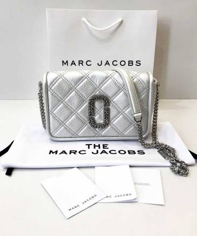 Сумка Marc Jacobs The Status Bag Silver