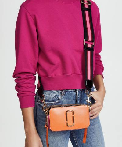Сумка Marc Jacobs Snapshot Camera Bag Orange Multi