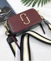 Сумка Marc Jacobs Snapshot Bag Maroon Multi