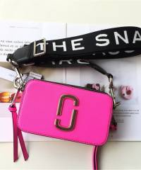 Сумка Marc Jacobs Snapshot Bag Fluorescent Bright Pink