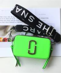 Сумка Marc Jacobs Snapshot Bag Fluorescent Bright Green