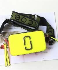 Сумка Marc Jacobs Snapshot Bag Fluorescent Yellow Multi