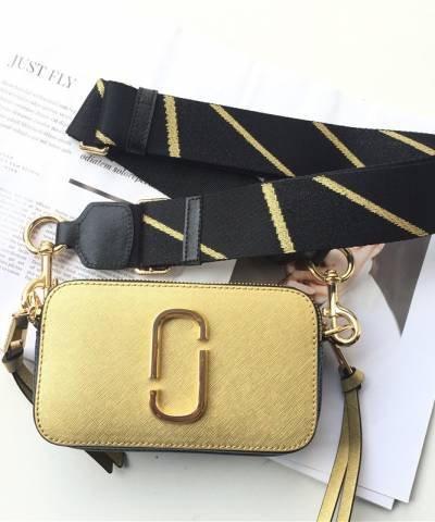 Сумка Marc Jacobs Snapshot Bag Gold Multi