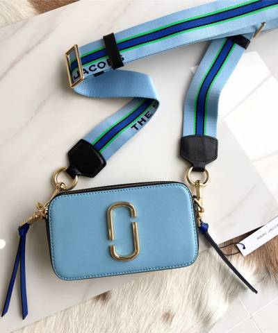 Сумка Marc Jacobs Snapshot Bag Misty Blue Multi