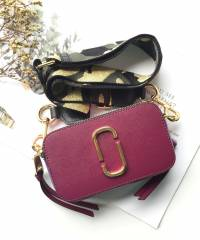 Сумка Marc Jacobs Snapshot Camera Bag Deep Berry