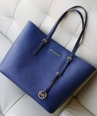Сумка Michael Kors Jet Set Travel Navy Blue