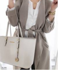 Сумка Michael Kors Jet Set Travel White