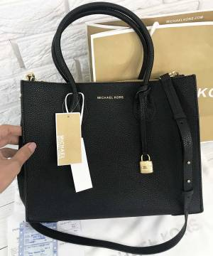 Сумка Michael Kors Mercer Large Black