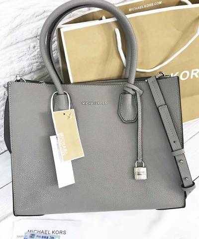 Сумка Michael Kors Mercer Large Grey