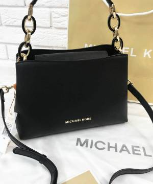 Сумка Michael Kors Portial Medium Black