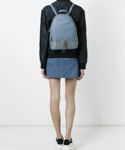 Рюкзак Michael Kors Rhea Studded Backpack Pale Blue