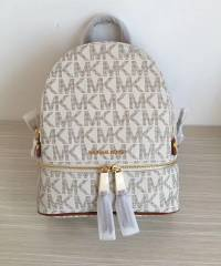 Рюкзак Michael Kors Rhea Signature Backpack Vanilla