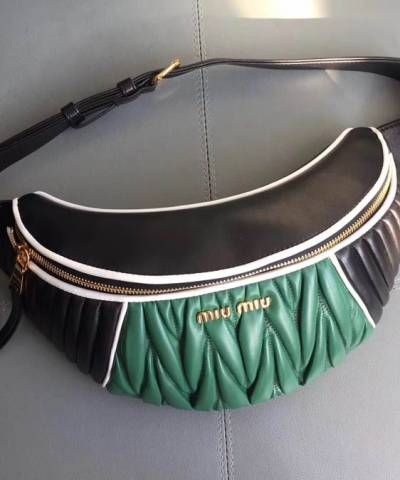 Сумка на пояс Miu Miu Rider Belt Bag Green