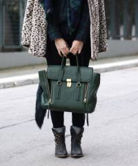 Сумка 3.1 Phillip Lim Medium Pashli Green