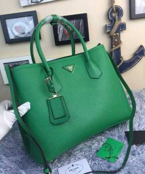 Сумка Prada Cuir Double Bag Grass