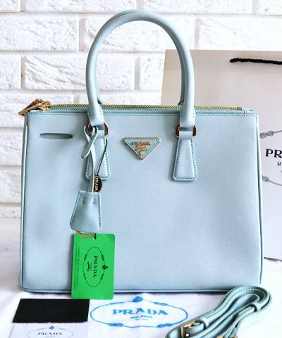 Сумка Prada Saffiano Lux Tote Bag Blue