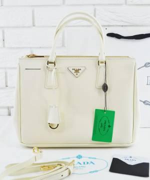 Сумка Prada Saffiano Lux Tote Bag White