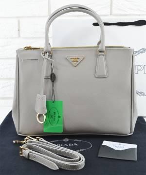 Сумка Prada Saffiano Lux Tote Bag Grey