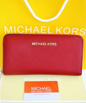 Кошелек Michael Kors Saffiano Red