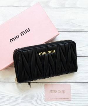 Кошелек Miu Miu Black