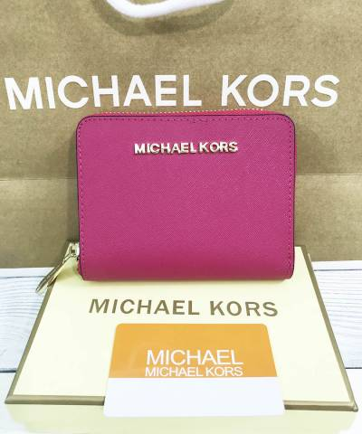 Кошелек Michael Kors Saffiano Small Crimson