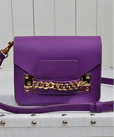 Сумка Sophie Hulme Envelope Bag Purple