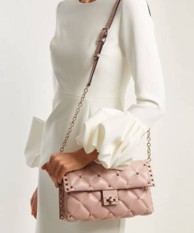 Сумка Valentino Garavani Candystud Medium Shoulder Bag Dusty Rose