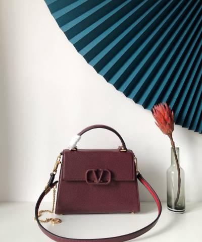 Сумка Valentino Garavani VSLING Bag Burgundy