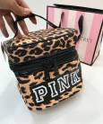 Косметичка Victoria's Secret Makeup Cosmetic Bag Leopard
