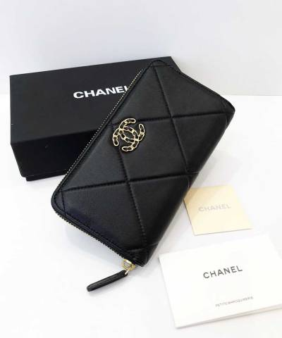 Кошелек Сhan*l 19 Flap Long Flap Wallet