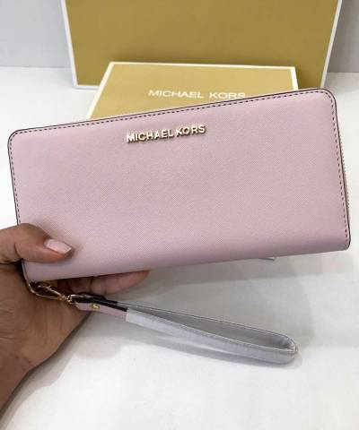 Кошелек Michael Kors Jet Set Travel Continental Wristlet Blossom