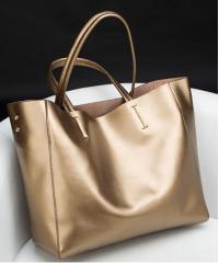 Сумка кожаная Venof Tote Bag (золото)